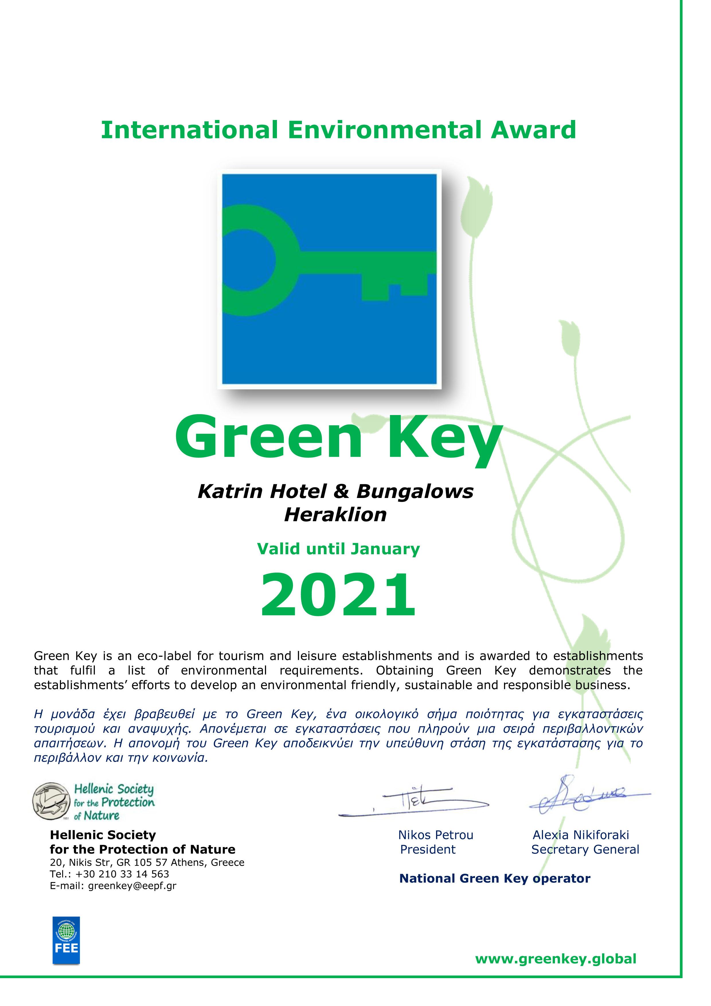 Green Key 2021