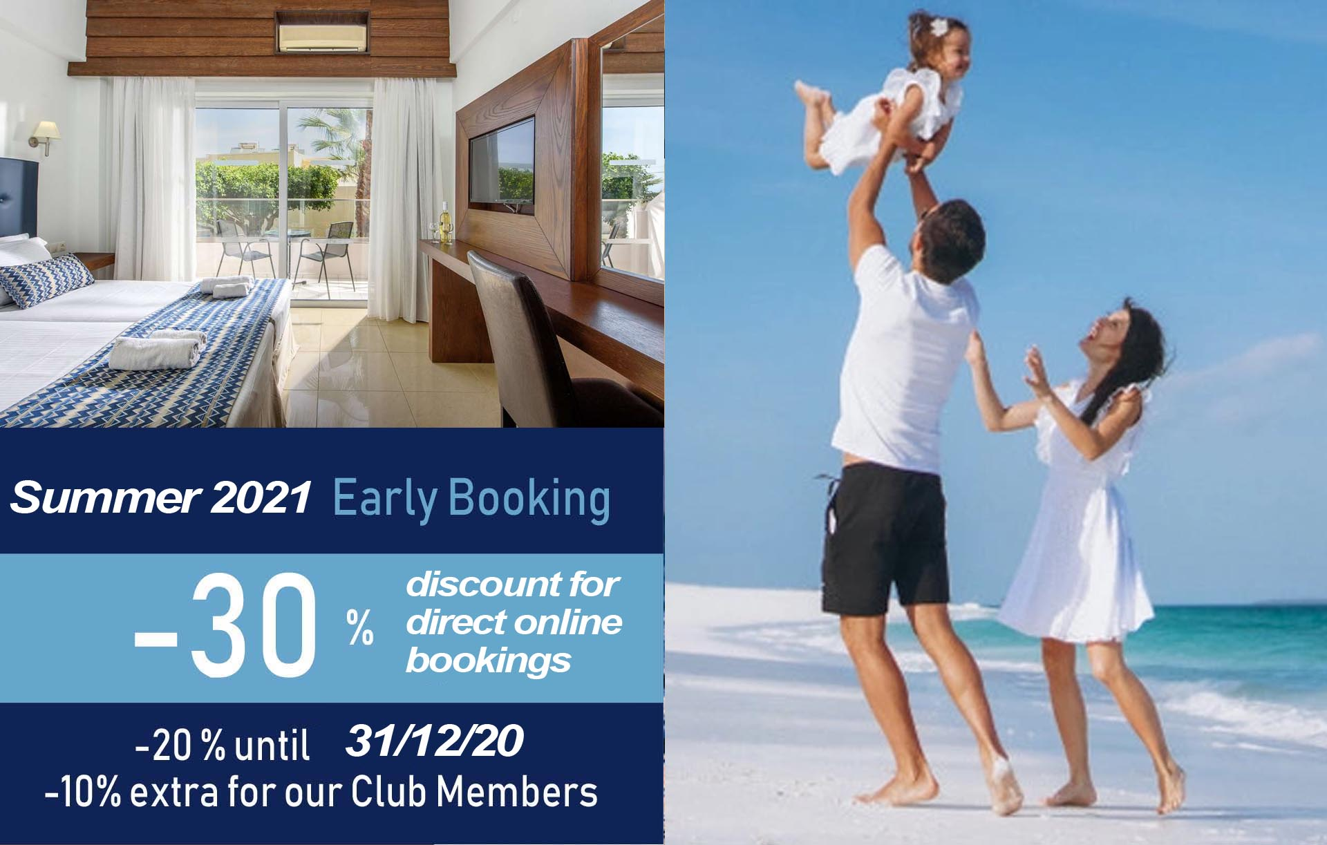 Summer 2021 - Early Booking (-30%)